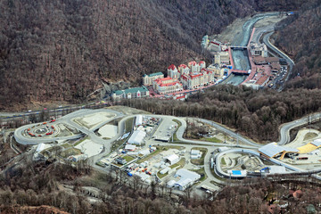 Rosa Khutor ski resort, Krasnaya Polyana, Sochi