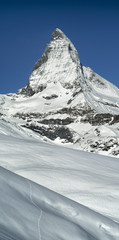 summit Matterhorn in Switzerland