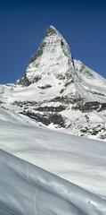 summit Matterhorn in Switzerland
