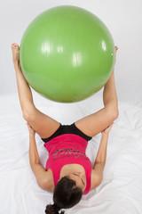 réducation avec ballon