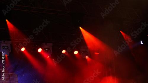 Papiers peints Lumiere, Ombre concert light show