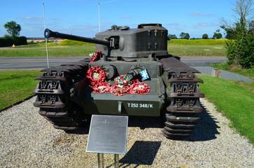 Monument de la Cote 112 ( Normandie 1944) - Char Churchill