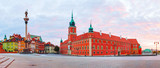 Castle square panorama in Warsaw, Poland - 73986582