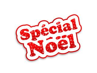 """Tampon """"SPECIAL NOEL"""" (joyeuses fêtes promos meilleurs voeux)"""