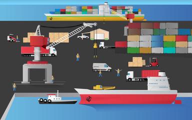 Harbour Cargo docked