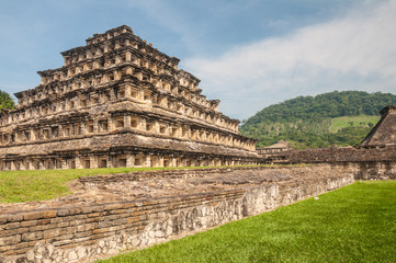 Pyramid of the Niches, El Tajin, Veracruz (Mexico)