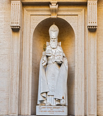 Statue of S. Gregorius Armeniae Illuminator in the Vatican museu