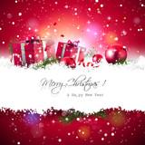 Photo: Christmas background