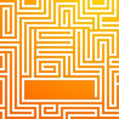 yellow-sunny-background-glowing-maze-summer