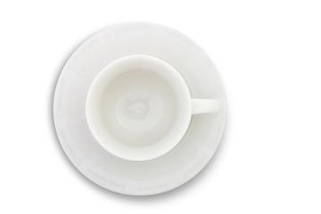 Tazza e piattino da caffè