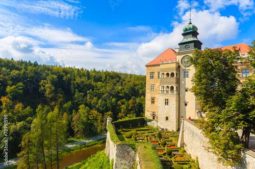 Castle Pieskowa Skala near Krakow, Poland - 73991599