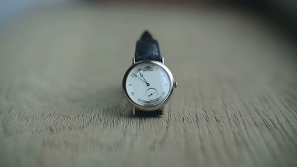 timelapse of wrist watch for 20 minutes