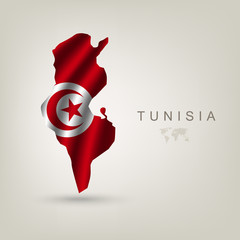 Flag of Tunisia as a country