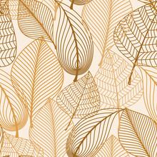 Atumnal szwu z brązowymi liśćmi