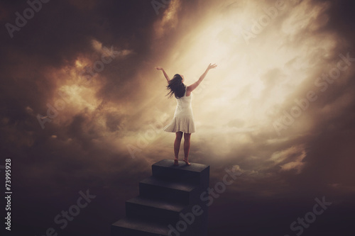 Staircase praise - 73995928
