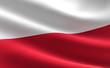Leinwandbild Motiv Poland flag