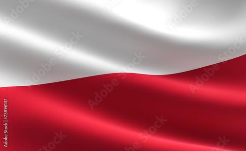Poland flag - 73996147