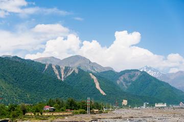 Mountains in Gabala region  - Azerbaijan