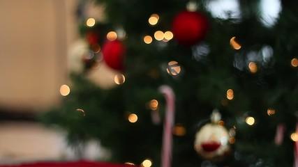 Christmas Balls on Christmas Tree