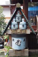 Sculpture in Japanese shrine