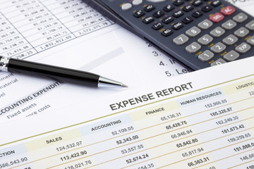 Expense management and report