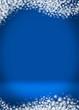 Happy Holidays Blank Winter Background