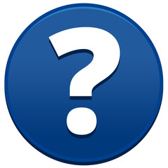 Big Blue Question Mark Button