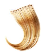 Blond hair piece