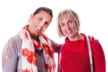 Happy seamstresses