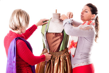 Seamstresses teamwork