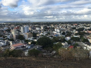 Port Louis from view from hill