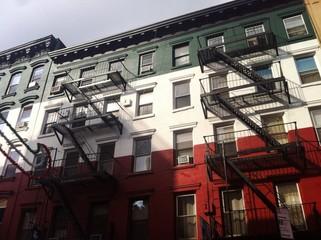 Building in little italy, Manhattan