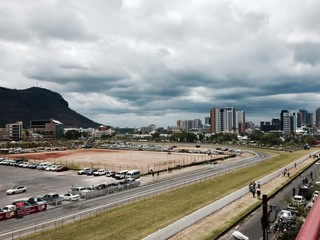 horse race track in port louis