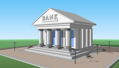Bank, right side view 02