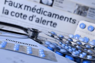 alerte : attention aux faux médicaments