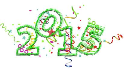 inscription 2015 New Year