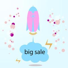 Start big sell