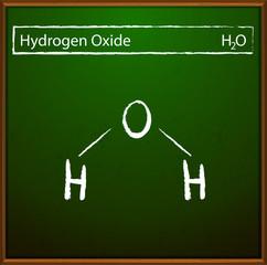 Hydrogen oxide formula