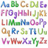 The alphabet Alphabet flash cards ABC alphabet