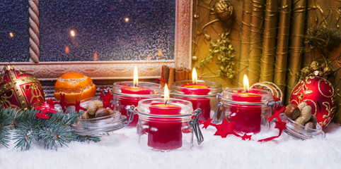 Vierter Advent, Adventsdekoration
