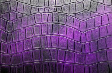 Vintage violet crocodile skin texture