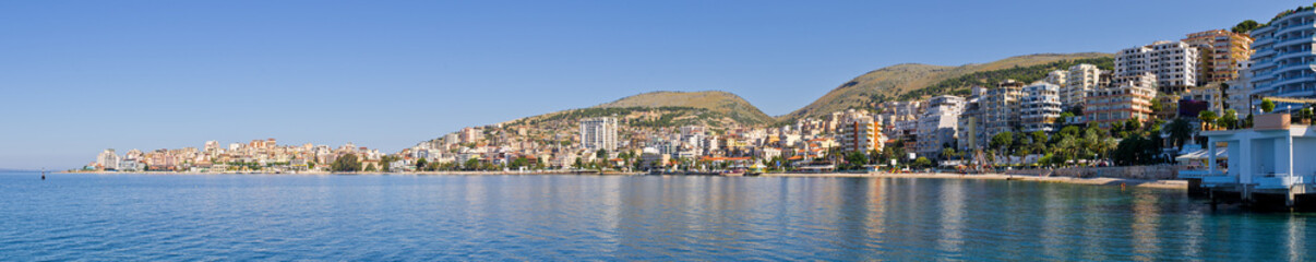Saranda city - summer resort, Albania