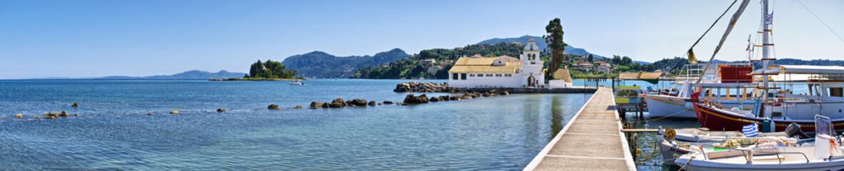 Kanoni in Corfu town, Greece