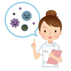 看護士 健康 ウイルス