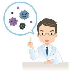 医者 健康 ウイルス
