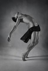 Young flexible dancer