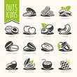 Nuts icon set - 74009987