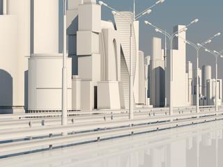 Road to the metropolis