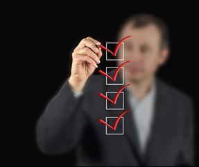 Filling checklist