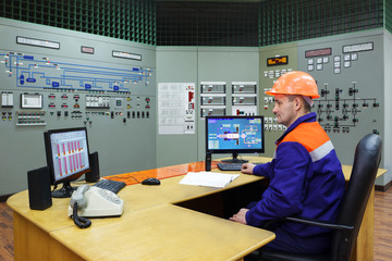 Engineer at the workplace